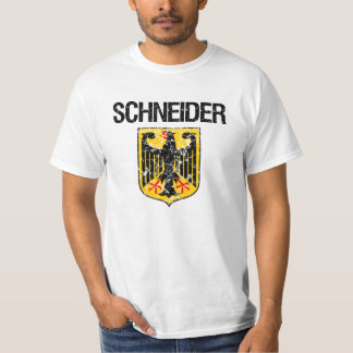 Schneider Last Name T-Shirt