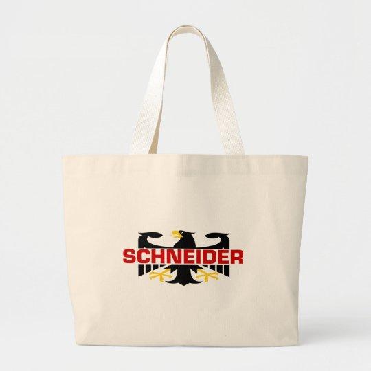 Schneider Surname Large Tote Bag
