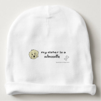 schnoodle baby beanie