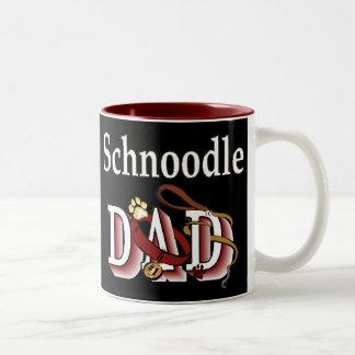 Schnoodle Dad Gifts Two-Tone Coffee Mug