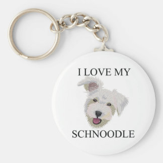 SCHNOODLE Love! Key Ring