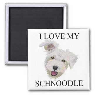 SCHNOODLE Love! Magnet