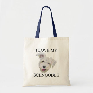 SCHNOODLE Love! Tote Bag