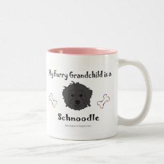 SchnoodleBlack Two-Tone Mug