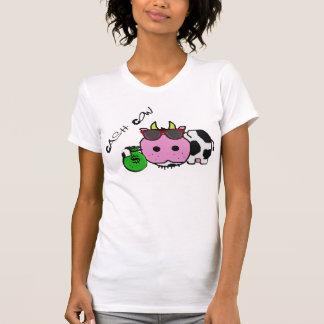 Schnozzle Cow Cash Cow Cartoon w/Money Bag Shirts