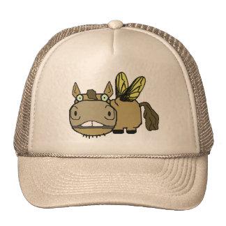 Schnozzle Horse Horsefly Cartoon Cap