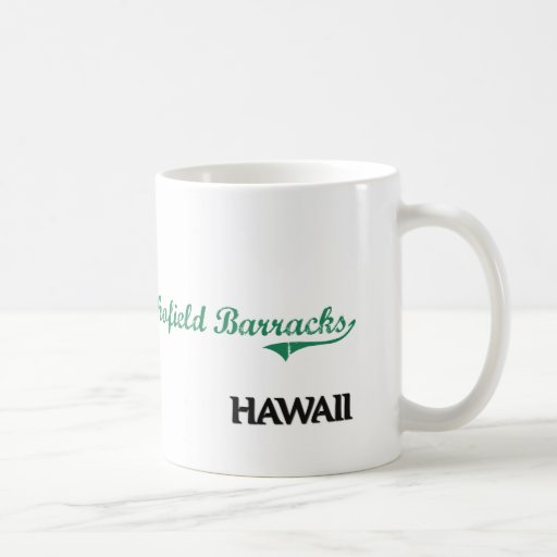 Schofield Barracks Hawaii City Classic Coffee Mug
