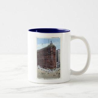 Schofield Building, Cleveland Ohio 1920s Vintage Coffee Mug