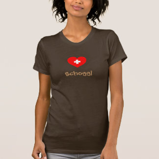 Schoggi (Swiss chocolate) t-shirt