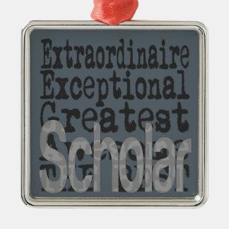 Scholar Extraordinaire Christmas Ornament
