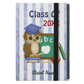 Scholar Owl Graduation 2017 -  Customize iPad Mini Cover