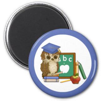 Scholar Owl Magnet