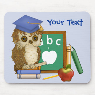 Scholar Owl Mousepad