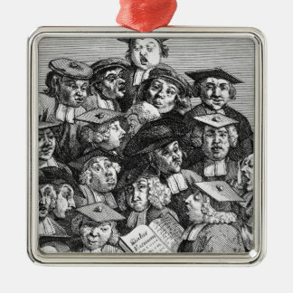 Scholars at a Lecture, 20th January 1736-37 Christmas Ornament
