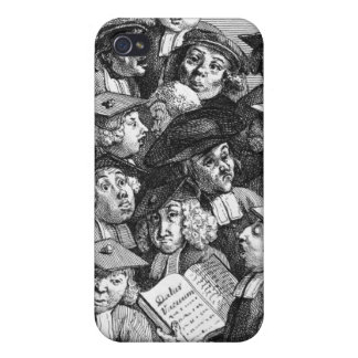 Scholars at a Lecture, 20th January 1736-37 Covers For iPhone 4