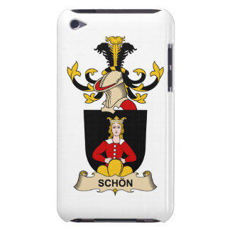 Schön Family Crest Barely There iPod Cover