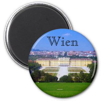schonbrunn view fridge magnet