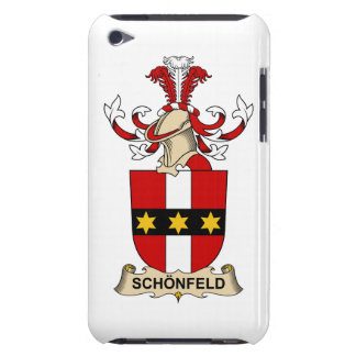 Schönfeld Family Crest Barely There iPod Covers