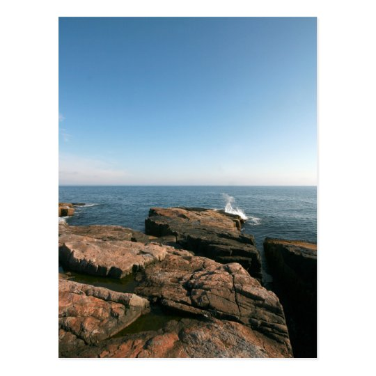 Schoodic Point Postcard