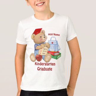 School Bear - Kindergarten Graduate T-Shirt