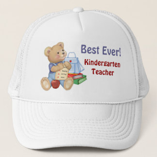 School Bear - Kindergarten Trucker Hat