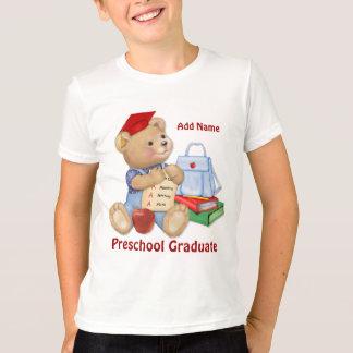 School Bear - Preschool Graduate T-Shirt