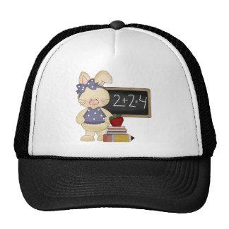 School Bunny Kids Gift Mesh Hats