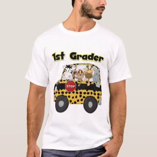 School Bus 1st Grader Tshirts and Gifts