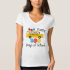 School Bus Celebrate 100 Days T-Shirt