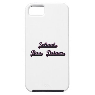 School Bus Driver Classic Job Design iPhone 5 Covers