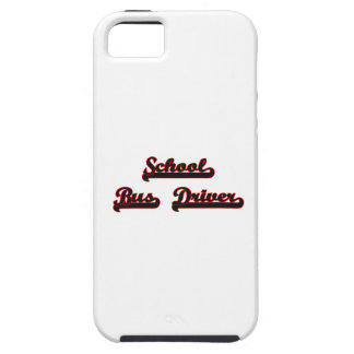 School Bus Driver Classic Job Design Case For The iPhone 5