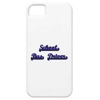 School Bus Driver Classic Job Design Barely There iPhone 5 Case