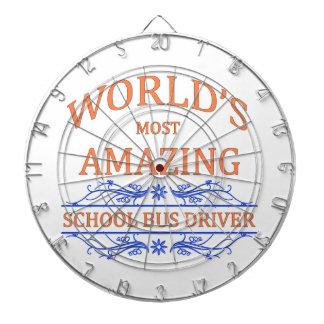 School Bus Driver Dartboard