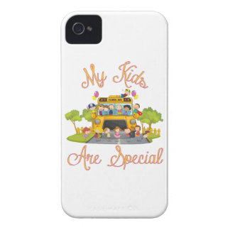 School bus driver My kids are special iPhone 4 Cases