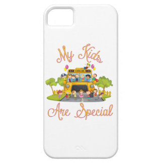 School bus driver My kids are special iPhone 5 Case