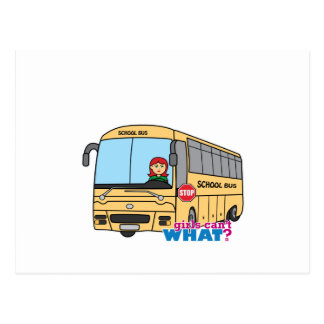 School Bus Driver Post Cards