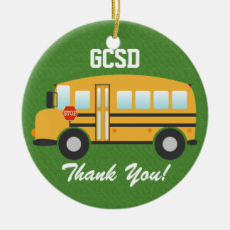 School Bus Driver - SRF Christmas Ornament