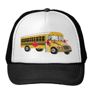 School Bus Trucker Hats