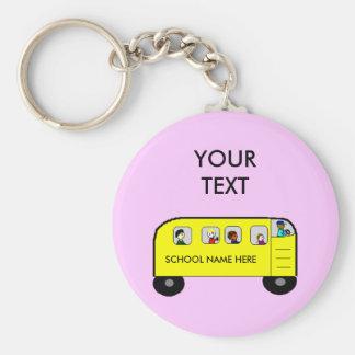 SCHOOL BUS - keychain