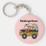 School Bus Kindergartener Tshirts and Gifts Key Chain