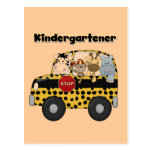 School Bus Kindergartener Tshirts and Gifts Postcards