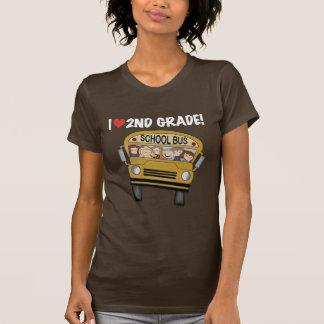 School Bus Love 2nd Grade Tshirts