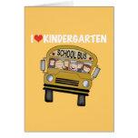 School Bus Love Kindergarten Cards