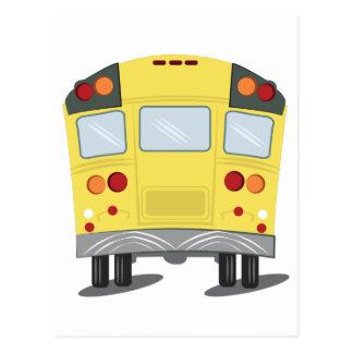 School Bus Postcard