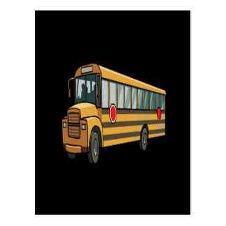 School Bus Postcards