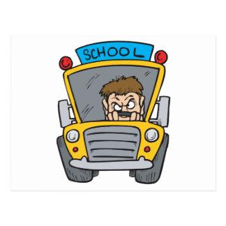 School Bus Post Cards