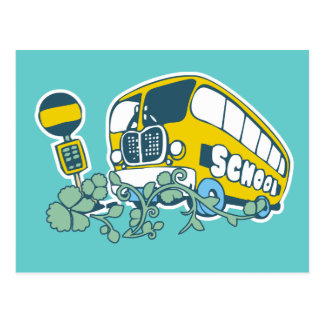 School Bus T-shirts and Gifts Post Cards