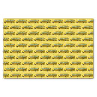 School Bus Tissue Paper