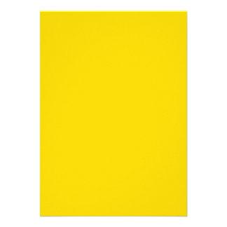 School Bus Yellow Invite