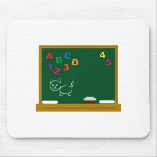 School Chalkboard Mousepad